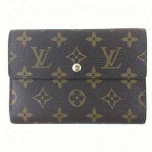 Authentic Louis Vuitton Porte Tresor Etui Papier
